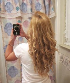 i want my hair to be this long and pretttty