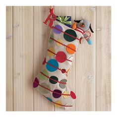 Connect the Dots Stocking
