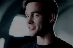 Oh Mon-el, that perfect smile *swoon* - Visit to grab an amazing super hero shirt now on sale!