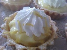 Mini tartes au citron