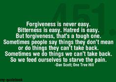 forgiveness #OTH