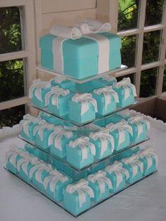 Breakfast at Tiffany's cakes