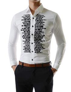 Gorgeous Stretchy Shine Rhinestones Cubic Brick Long Sleeve Shirts