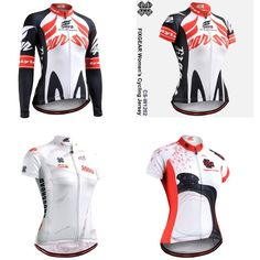 Just 0.99 Euro  place your bid now! 8 hours left  FIXGEAR 4 WOMEN S CYCLING JERSEY LONG/SHORT SLEEVE/CYCLING TOPS SIZE S