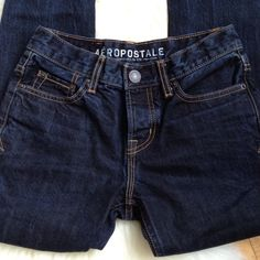 """Aeropostale Skinny Jeans, Sz 27 Inseam 30"""". Runs small for a Sz 27- would fit size 0/2. 100% cotton. Very nice heavy material- not thin and stretchy. Dark rinse. Aeropostale Jeans Skinny"""