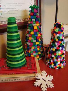 DIY Felt Christmas Tree : DIY Homemade Felt Christmas Trees