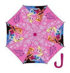 Paraguas automatico Frozen Disney 48cm surtido - http://comprarparaguas.com/baratos/disney/paraguas-automatico-frozen-disney-48cm-surtido/
