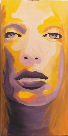 warm light (acryl on canvas) by Edl Art Colorful, Warm, Portrait, Canvas, Painting, Tela, Men Portrait, Painting Art, Portrait Illustration
