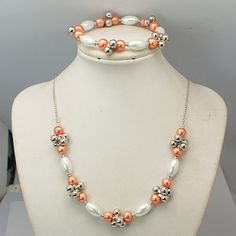 Fashion Glass Pearl Jewelry Sets
