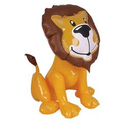 Inflatable Friendly Lion (2 feet tall)