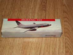 Vintage British Airways model plane Vintage by BunkysVintageCrafts