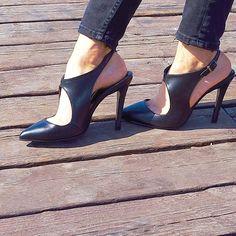 siyah topuklu ayakkabı,şık,siyah,moda,rahat,siyah,kısa topuk,ince topuk