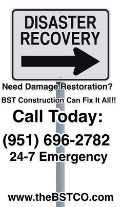 Disaster Recovery, Need Damage Restoration? BST Construction Can Fix It All!! Call Today: (951) 696-2782 24-7 Emergency www.theBSTCO.com #recovery #restoration #construction #waterdamagerestorationservice #waterdamagerestoration #firedamagerestoration #firedamagerestorationservices #winddamagerestoration #firedamage #waterdamage #disasterrecovery #disasterpreparedness #socal #california #southerncalifornia #calltoday #callus #visitourwebsite #callustoday