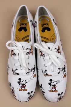Vintage Mickey Mouse Keds