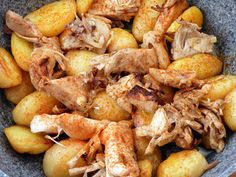 Brassói aprópecsenye helyett - Jackfruit pecsenye recept Tortilla Chips, Shrimp, Potatoes, Meat, Vegetables, Food, Potato, Essen, Vegetable Recipes