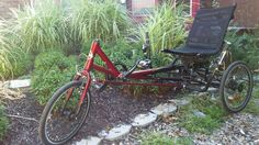 The Sun Eurus is a heavy duty trike. Sun is one of the older brands and they build trikes that last. Cherry read is this years pink ; Custom Trikes, Cherry, Old Things, Bicycle, Sun, Bicycle Kick, Bicycles, Prunus, Bmx
