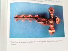 5th Century Type-6 Crossbow Fibula, Moray Firth Hoard, Scotland Military Equipment, Crossbow, Scotland, Roman, Brooch, Type, Jewelry, Jewlery, Jewerly