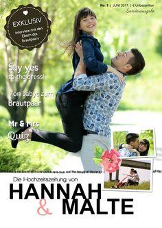 NEU: Hochzeitszeitung gemaakt met Jilster!