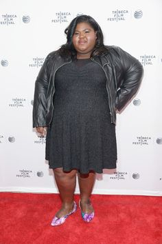 """Gabourey Sidibe Photos - Gabby Sidibe attends the """"Life Partners"""" premiere during the 2014 Tribeca Film Festival at SVA Theater on April 2014 in New York City. Trendy Plus Size Fashion, Curvy Fashion, Hollywood Fashion, Hollywood Style, Plus Size Workwear, Curvy Celebrities, Gabourey Sidibe, Tribeca Film Festival, Plus Size Shopping"""