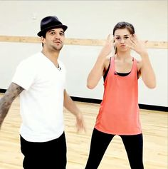 Dance pro Mark Ballas and Duck Dynasty's Sadie Robertson have declared their team name to be Quack Attack on Dancing With the Stars.