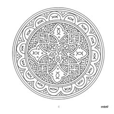 Blank Coloring Pages, Printable Coloring Pages, Color Art, Colour Board, Mandala Coloring, Line Drawing, Doodle Art, Adult Coloring, Ideas Para