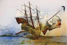 ralph steadman mexico - Google Search