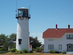 Chatham Lighthouse in summer