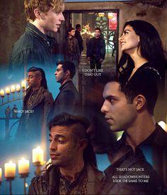 """#Shadowhunters 2x14 """"The Fair Folk"""" - Meliorn, Raphael, Izzy and Sebastian"""