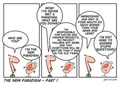 new paradigm on projects