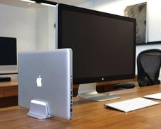 Just Mobile AluBase / AluBase ™ is the vertical stand for Apple MacBook Pro and MacBook Air.Crafted from a single piece of high-grade aluminum http://thegadgetflow.com/portfolio/just-mobile-alubase-49/