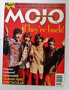 Mojo Issue No 24 November 1995 Special Collectors Edition Beatles McCartney Lennon Blur Live Blur, Kd Lang, Lennon, Zappa, Ray Charles, The Fab Four, Abbey Road, Time Magazine, Rolling Stones