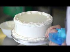 Royal Icing Cake Decoration Master Class with Charlotte Feve - YouTube