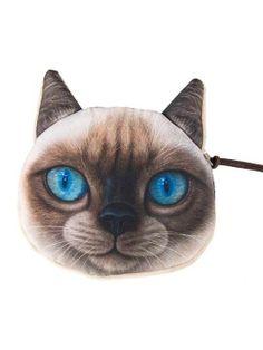 Shop Berman Cat Coin Purse from choies.com .Free shipping Worldwide.$1.9