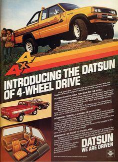Datsun King Cab ad.