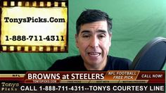 Cleveland Browns vs. Pittsburgh Steelers Pick Prediction NFL Pro Footbal...