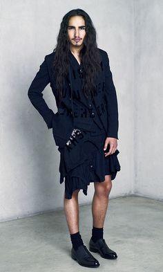 Willy Cartier | Miharayasuhiro Spring/Summer 2012 | ph. Style.com