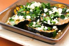 Grilled Eggplant wit...