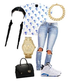 """You Couldn't Get Michael Kors If You Was Fck'n Michael Kors ♡"" by prettygirlnunu ❤ liked on Polyvore"
