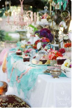 mad tea party 27a by A Fanciful Twist, via Flickr