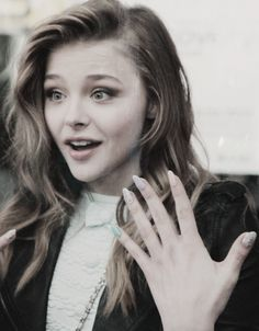 Chloe Moretz with pastel nails - Nail Art And Design Ideas To Try, Courtesy Of…