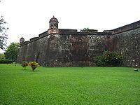 Guatemala - Castillo de San Fernando de Omoa. Único puerto en el Atlántico durante la Colonia Española (1524-1821).