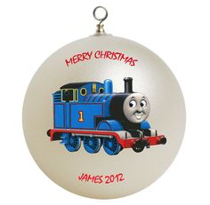 Thomas the Train Personalized Custom Christmas by photocustomgifts, $15.95