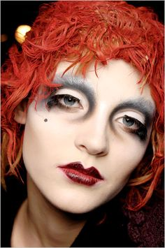 Makeup by Pat McGrath for John Galliano/Dior