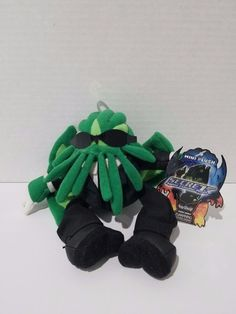 "Mini Secret Agent Cthulhu 6"" Plush Stuffed Toy Vault 2004 Collectible  #ToyVault"