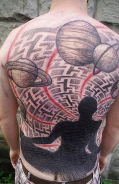 Abstract Tattoo by Little Swastika - http://worldtattoosgallery.com/abstract-tattoo-by-little-swastika-13/