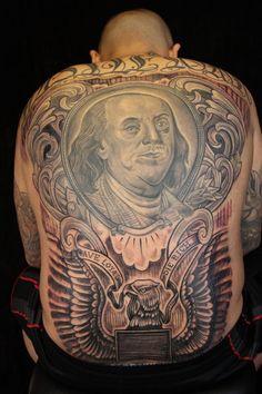 Swordfish tattoo by corey miller artsyshit pinterest for Paris tattoos charlotte