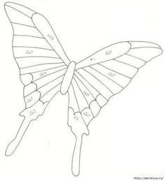 Бабочки из пластиковых бутылок - мастер классы и шаблоны