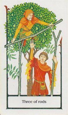 Tarot 3 wand - Google Search