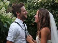 Canaan Smith's Wedding Day Was Gorgeous and We Have the Photos to Prove It | Photo by: Melissa and Victor Berrios | TheKnot.com