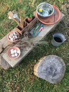 Task Shakti - A Earn Get Problem Super Easy And Cheap Mud Kitchen And Magic Potion Making Station. Diy Mud Kitchen, Mud Kitchen For Kids, Diy Outdoor Kitchen, Outdoor Fun, Kitchen Magic, Outdoor Games, Backyard Playground, Backyard For Kids, Playground Ideas